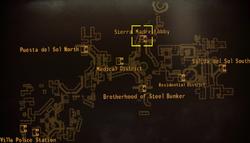 DM Sierra Madre hotel map