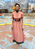 Fo4Laundered rose dress