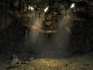 Ant mound interior