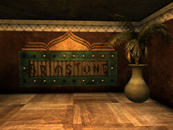 Brimstone sign