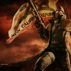 NCR Ranger with an Anti Material Rifle
