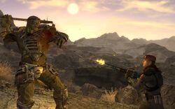 FNV screenshot NCR vs Mutant