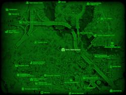 FO4 Уоттс Электроникс (карта мира)