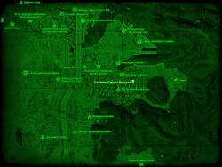 FO4 Церковь Южного Бостона (карта мира)