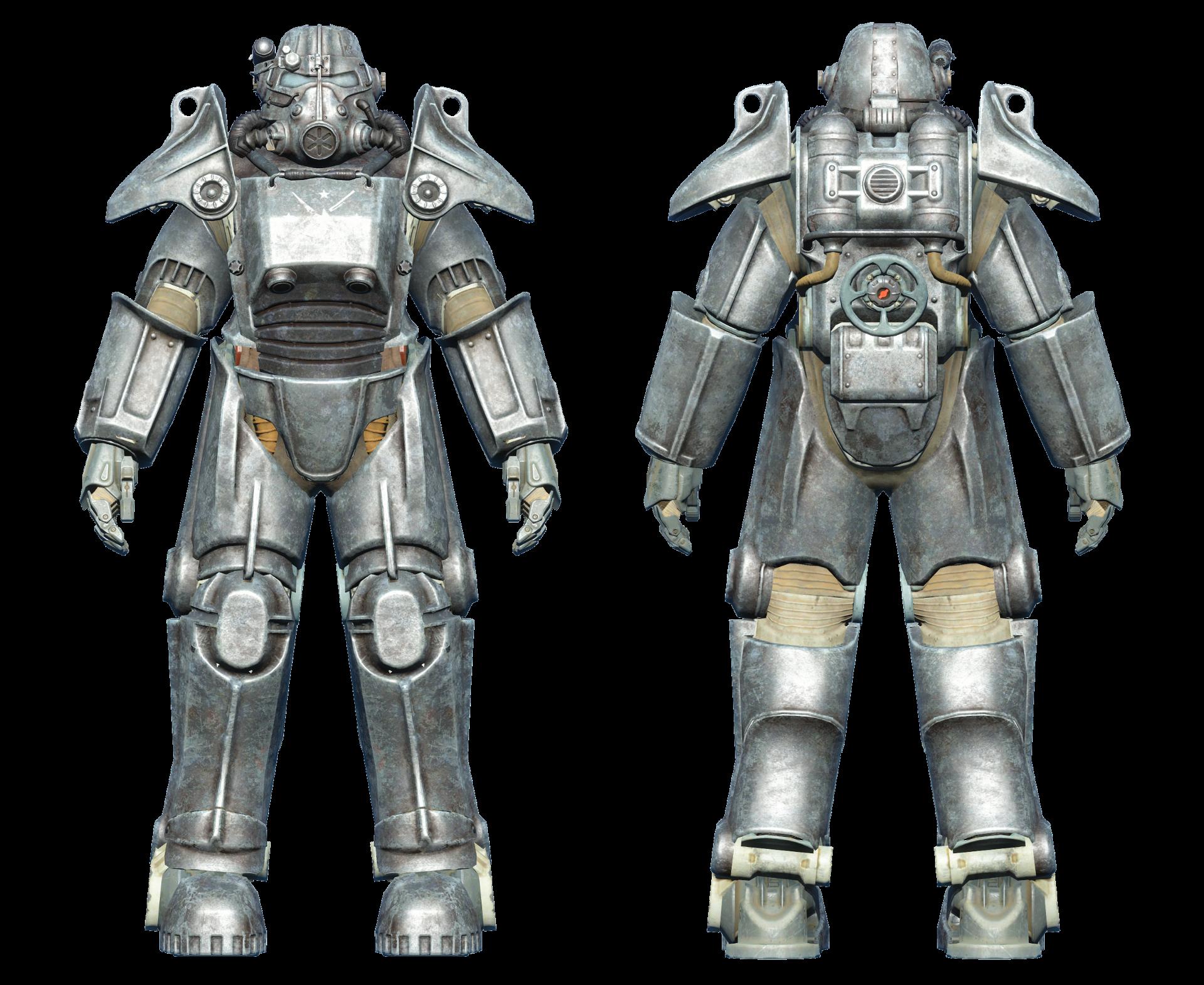 FO4 T-45 power armor minutemen