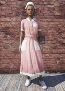 FO76 Asylum Worker Uniform Pink