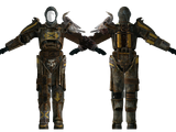 Tribal power armor