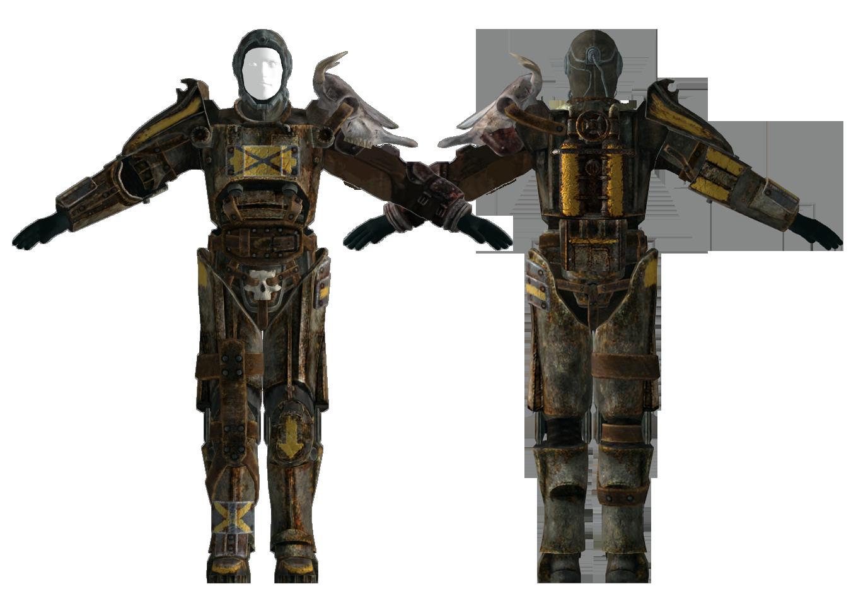 Fo3TP Tribal T45D power armor