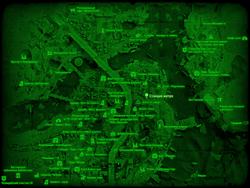 FO4 Станция «Валенти» (карта мира)