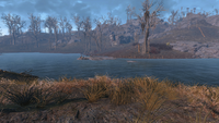 FO4 Dark Hollow pond point