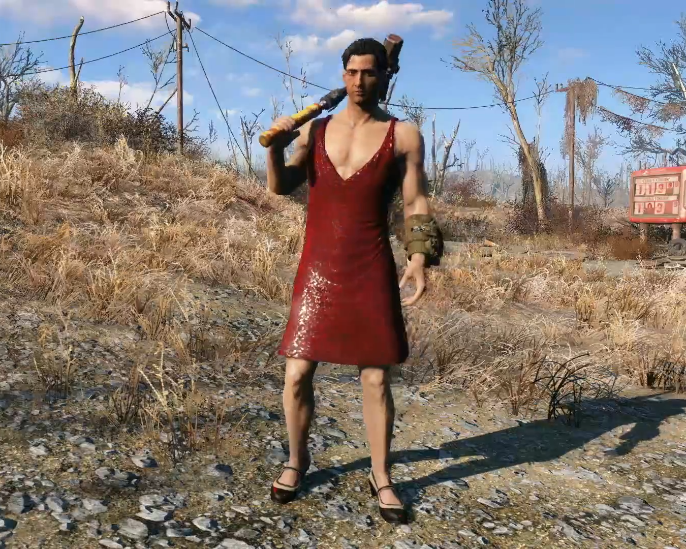 Image - FO4 Red Dress.png | Fallout Wiki | FANDOM powered by Wikia