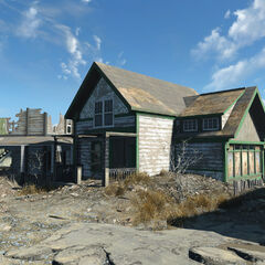 Ruined Beach House