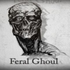 Fallout 3 feral ghoul concept art