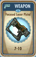FoS Focused Laser Pistol Card