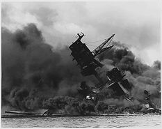 USS Arizona Pearl Harbor - 1941