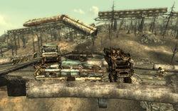 Abandoned Car Fort
