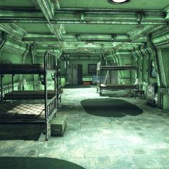 Crew bunks
