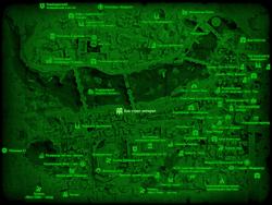 FO4 Бэк стрит аппарел (карта мира)