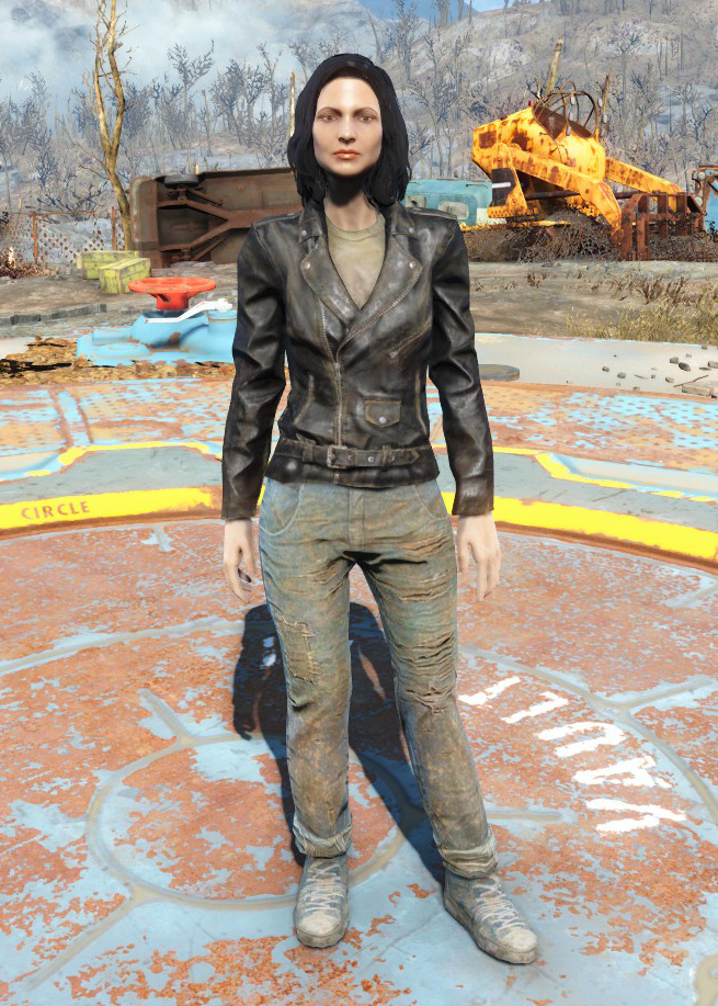 Atom Cats jacket and jeans   Fallout Wiki   FANDOM powered