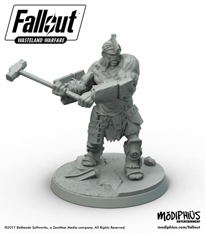 Fallout Wasteland Warfare brute