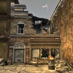 Ruined store