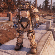 Atx skin powerarmor paint camobrown c1