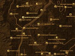 FNV Карта ДЬЯВОЛЬСКАЯ ВПАДИНА