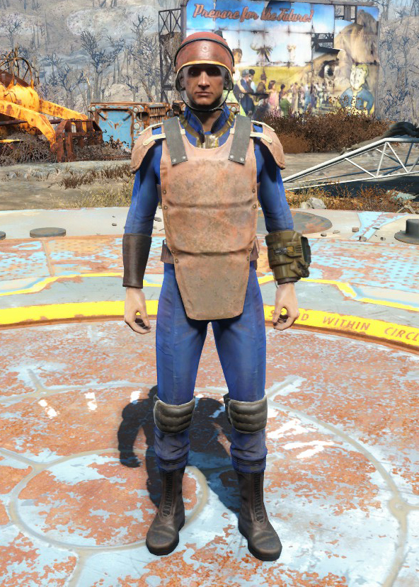 Vault-Tec security armor | Fallout Wiki | FANDOM powered by Wikia