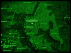 FO4 Подготовительная школа Восточного Бостона (карта мира)
