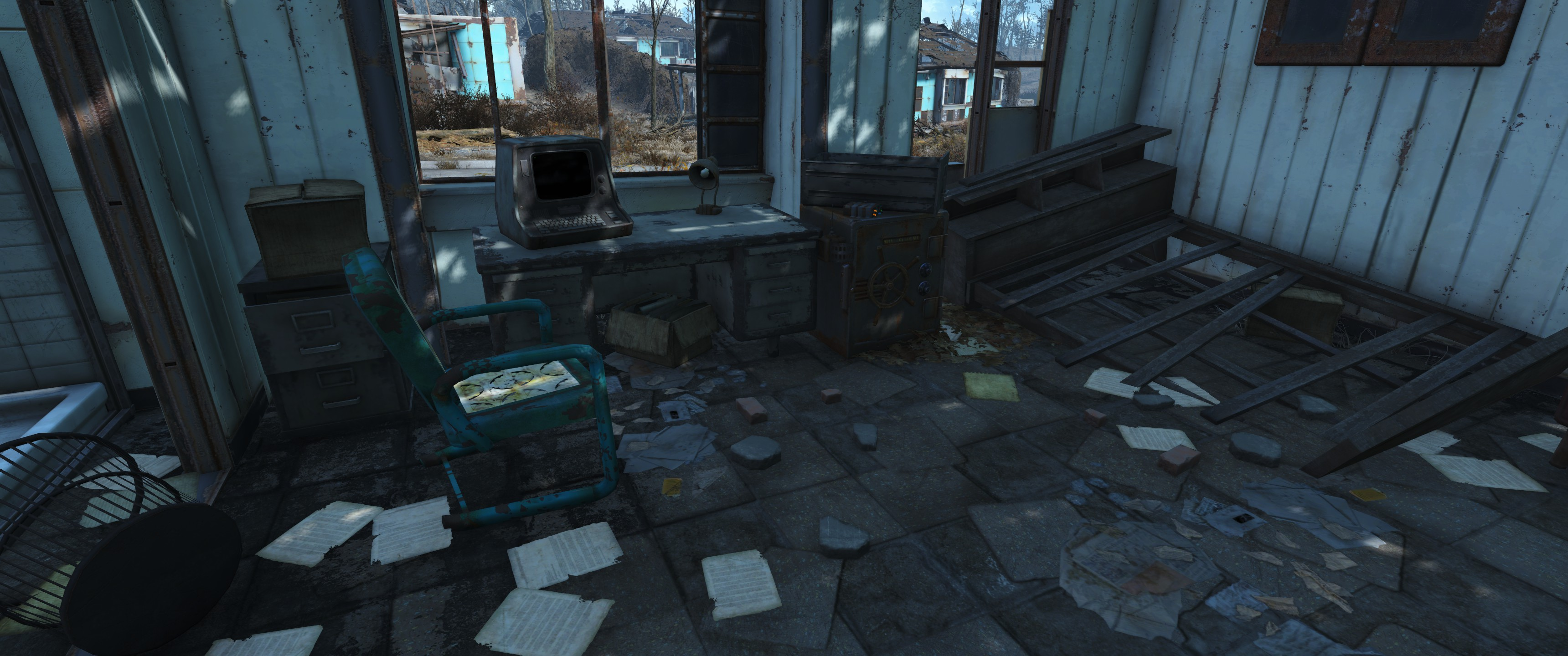 FO4 Santuary Chem dealer terminal and Safe