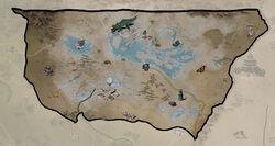 FO76 Карта регіону Отруєна долина