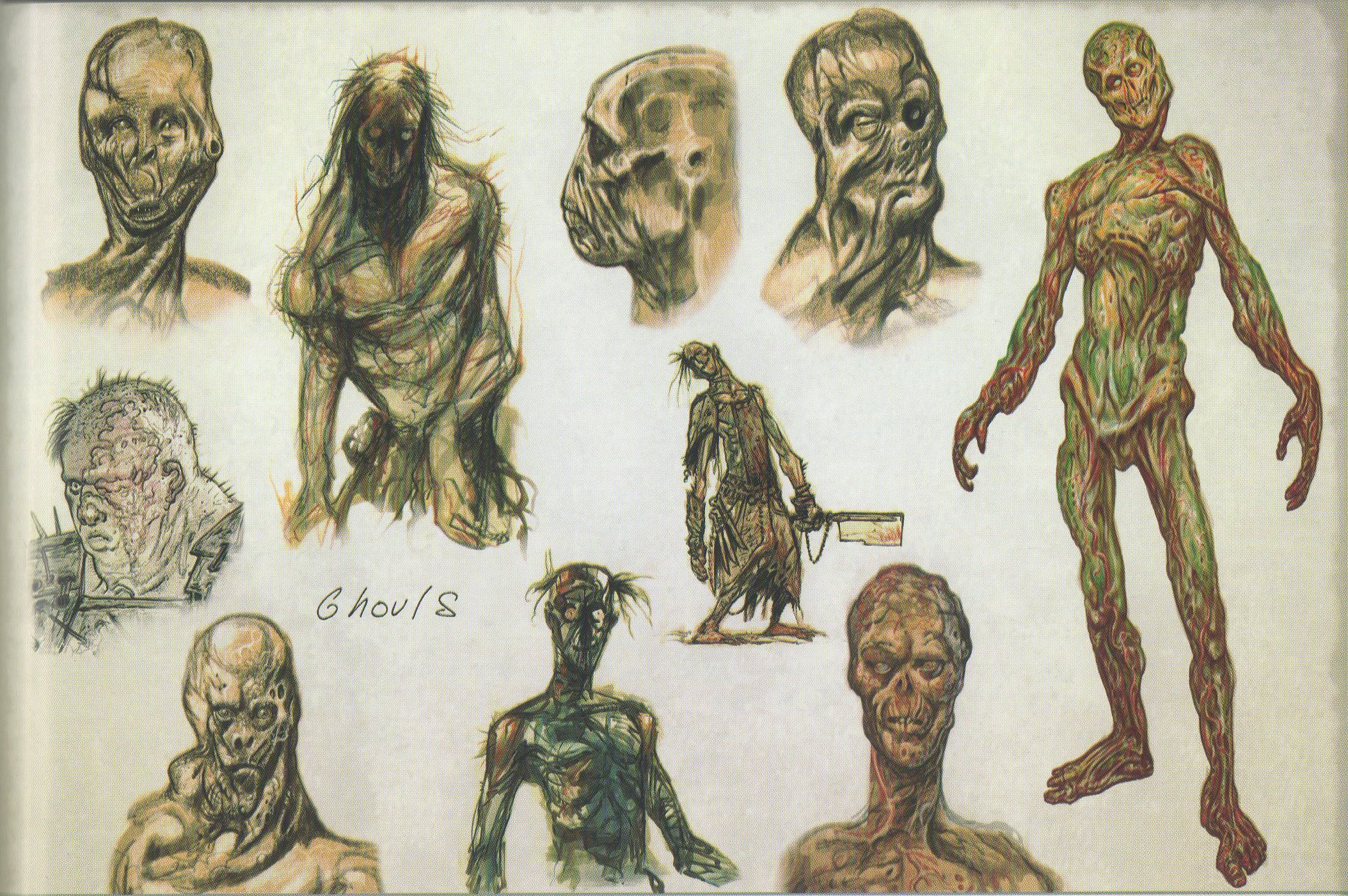 image ghoul concept jpg fallout wiki fandom powered by wikia
