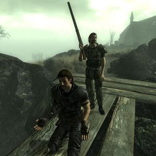 Річард і Джон на краю обриву під час страти