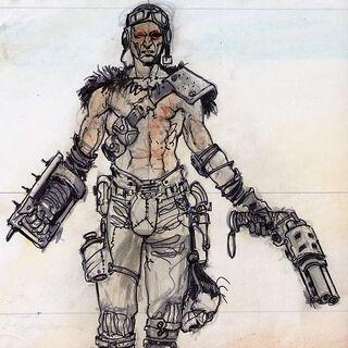 Броня рейдерів-садистів — концепт