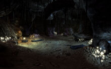 Three Marys caverns