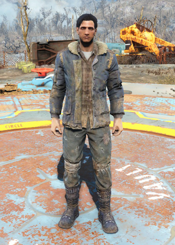 Winter Jacket And Jeans Fallout 4 Fallout Wiki Fandom Powered