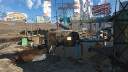 Diamond City Radio exterior