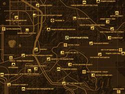 FNV Карта КУРОРТНЫЙ ОТЕЛЬ