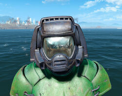 FO4CC Doom Marine helmet