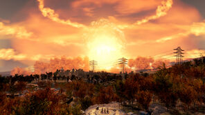 FO4 Nuclear strikes on Boston