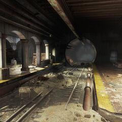 Subway platform