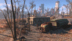 FO4 South Boston Military Checkpoint