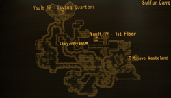 Vault 19 sulfur caves map