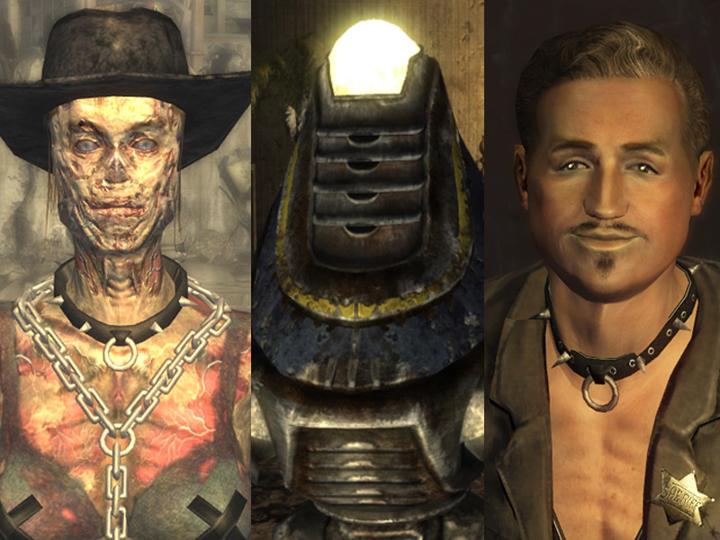 Is there any sexual content in fallout new vegas