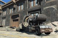 FO4 Vehicle street clean Gift Shop