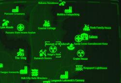 FO4 map Hugo's Hole