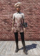 FO76 Bloody Chef Outfit with Hat Female