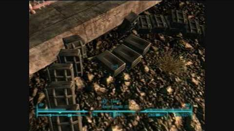 Fallout 3 - How to get the Beta Tesla Cannon on Xbox 360 & PS3 - Broken Steel