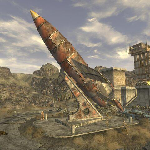Монумент ракети на <a href=