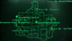 Germantown PHQ ground floor map